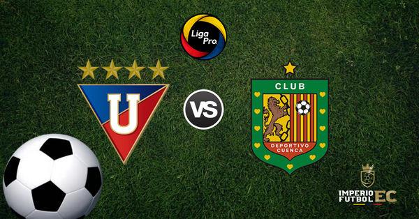 En Vivo Liga De Quito Vs Deportivo Cuenca Por La Fecha 14 De La Ligapro De Ecuador 2019