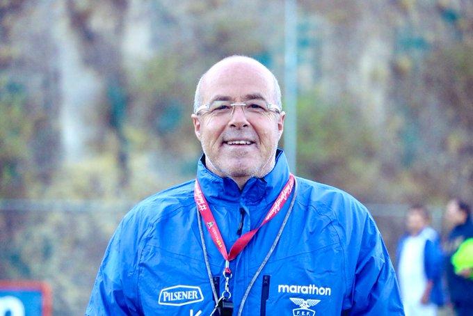DT Jorge Célico habla sobre nacionalizados en la selección de Ecuador