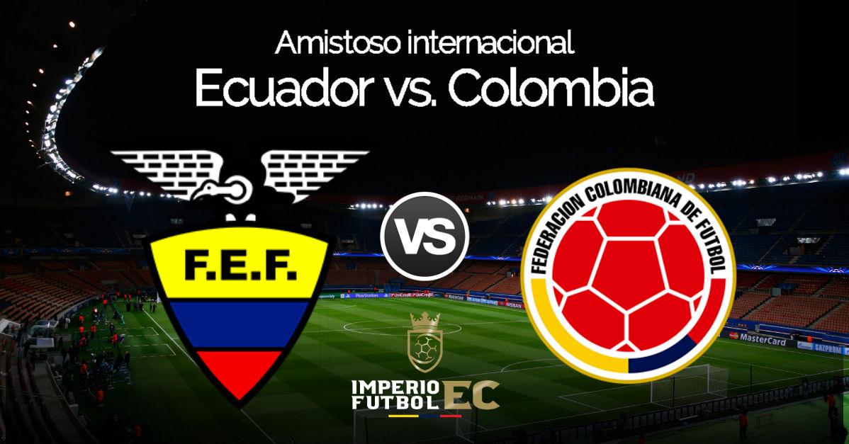 Ecuador vs. Colombia EN VIVO en Nueva Jersey por Caracol TV por amistoso internacional