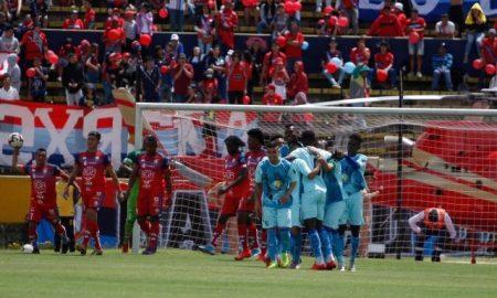 Macará goleó a El Nacional en su partido de presentación GOLES VIDEO