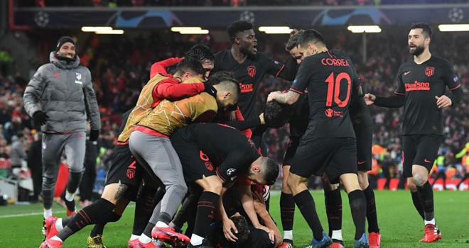 Partido Liverpool Atlético Madrid