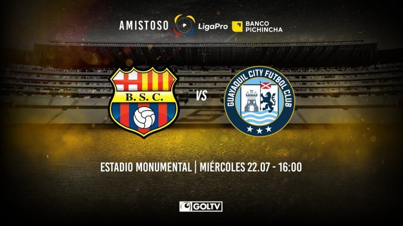 Barcelona SC vs Guayaquil City
