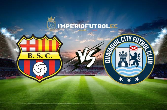 Barcelona SC vs Guayaquil City EN VIVO ver partido por GolTV