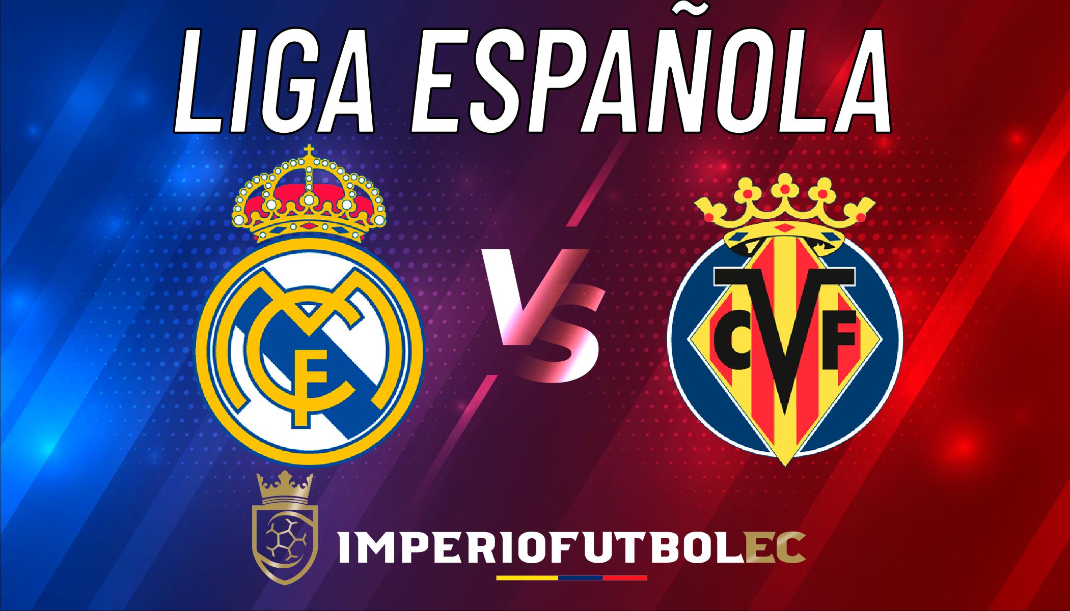 Real Madrid vs Villareal EN VIVO-01