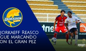 Dorados de Sinaloa venció a Cimarrones con anotación de Djorkaeff Reasco