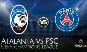 VER EN VIVO Atalanta vs PSG Canales, Horarios, pronóstico partido por los cuartos de final de la Champions League