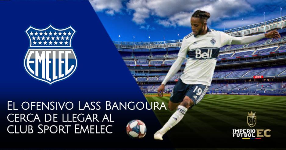 El extremo ofensivo Lass Bangoura cerca de llegar al Club Sport Emelec