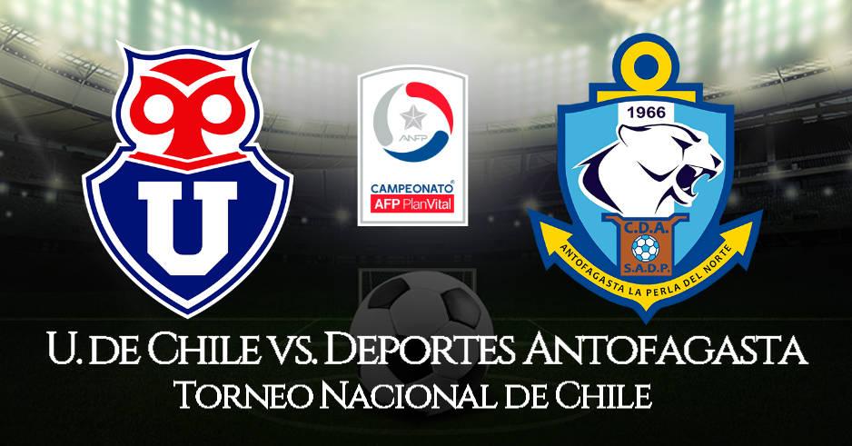 Universidad de Chile vs. Antofagasta EN VIVO por CDF
