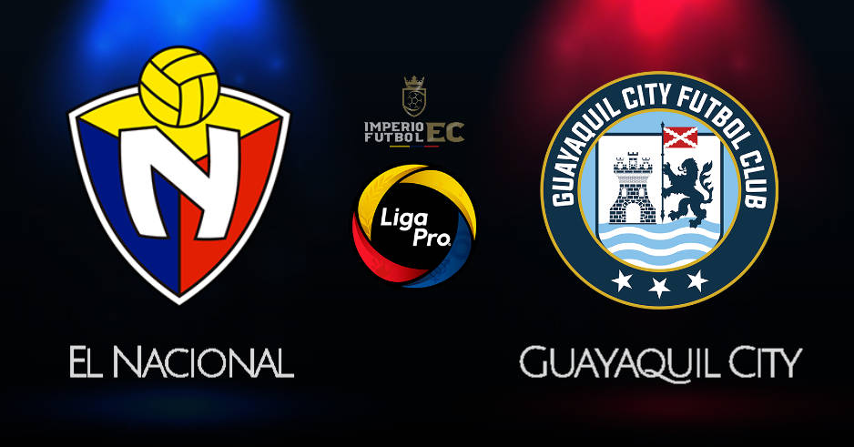 EL NACIONAL vs GUAYAQUIL CITY EN VIVO GOL TV LIGA PRO 2020