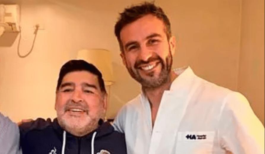 """Médico personal de Maradona acusado de """"homicidio culposo"""""""