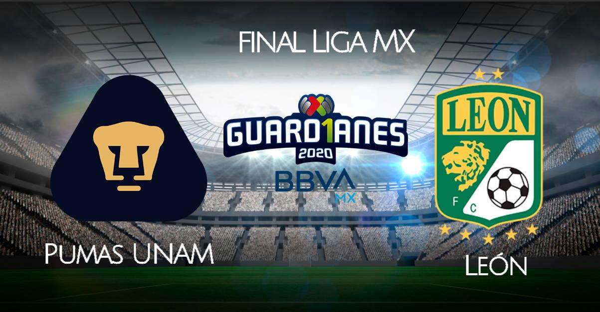 Pumas vs León EN VIVO TUDN canales TV y dónde ver final de Liga MX