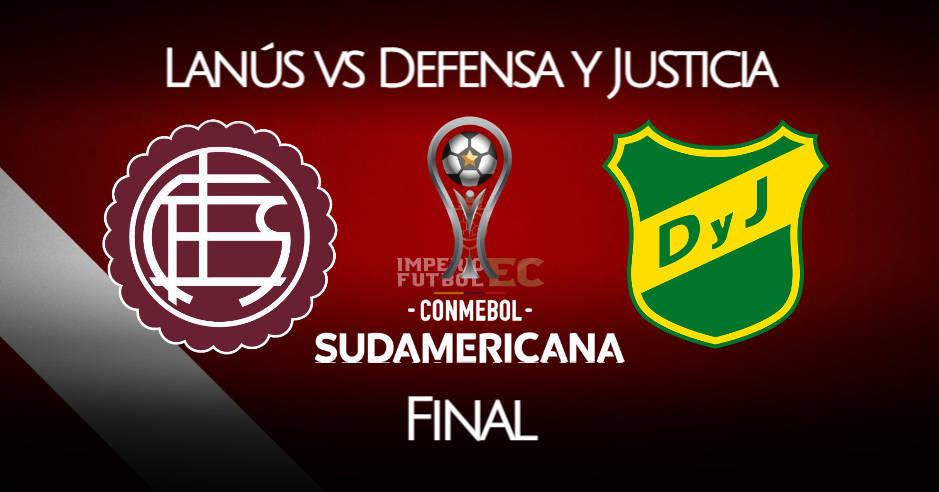 Lanús vs Defensa y Justicia EN VIVO final de Copa Sudamericana