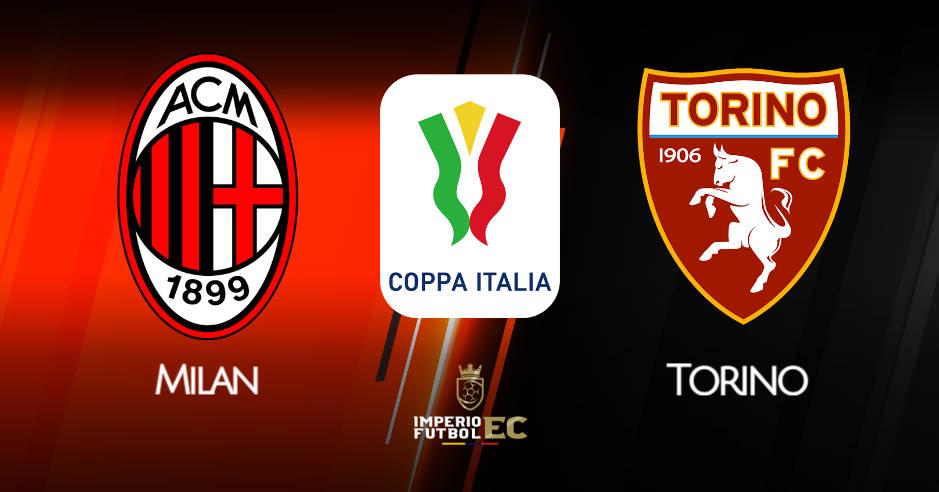 Milan vs Torino EN VIVO DIRECTV donde ver octavos de final Copa Italia