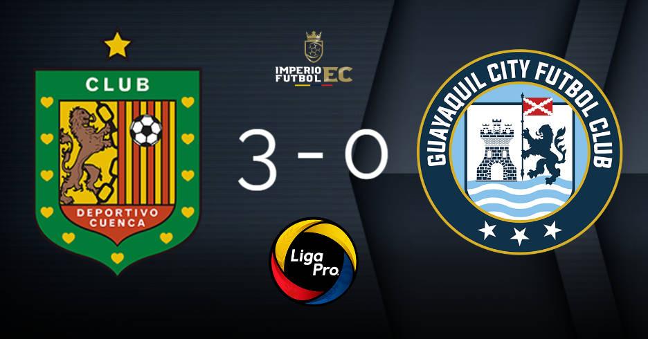 final del partido deportivo cuenca derrota a guayaquil city