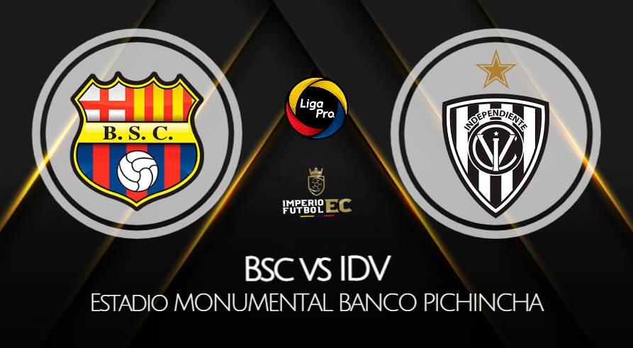 BARCELONA SC - IDV EN VIVO GOL TV FECHA 6 LIGA PRO