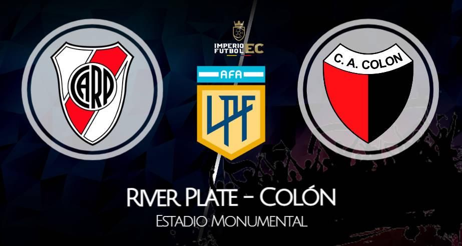 River Plate - Colón EN VIVO ESPN por Copa de la Liga Profesional