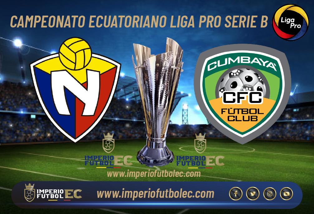 VER El Nacional vs Cumbaya EN VIVO-01