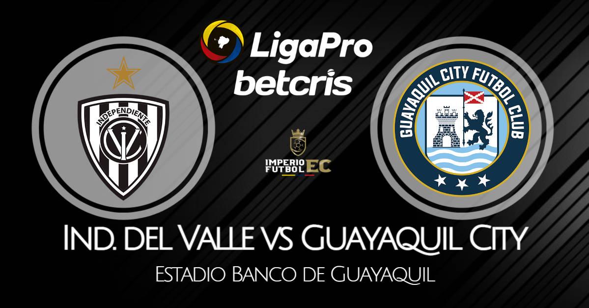 VER IDV - Guayaquil City EN VIVO por la fecha 13 de la Liga Pro 2021