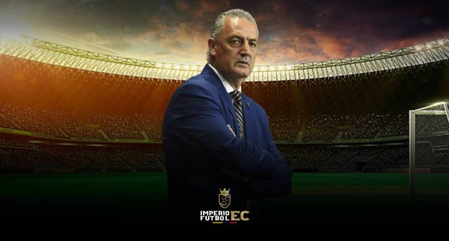 Gustavo Alfaro un poco molesto y sus palabras tras la derrota de Ecuador ante Uruguay
