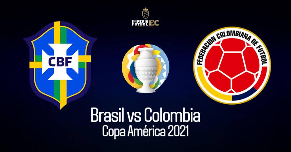 VER BRASIL – COLOMBIA EN VIVO GRUPO B COPA AMÉRICA