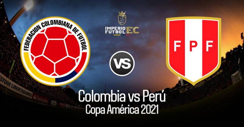VER Perú - Colombia EN VVO guía tv para ver Copa América 2021