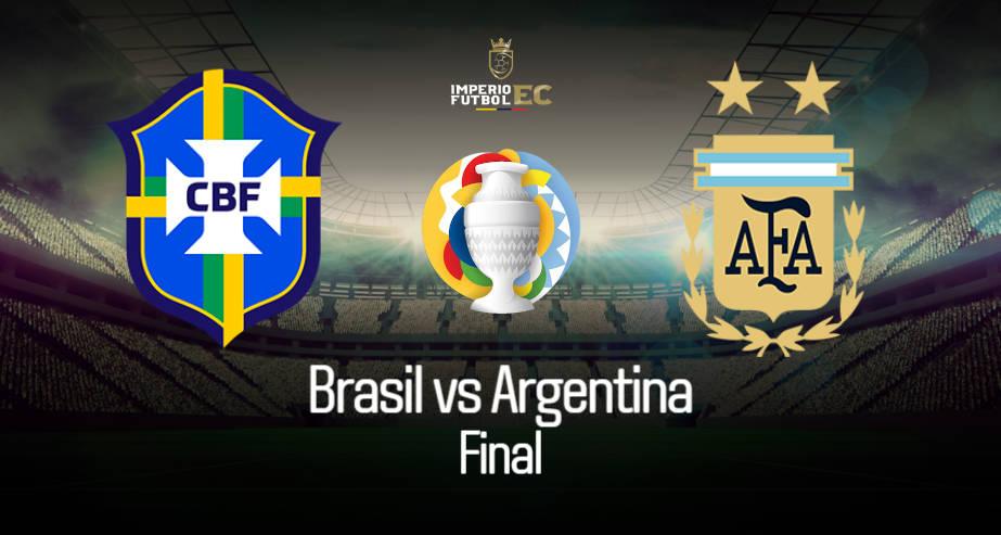 Argentina vs Brasil EN VIVO FINAL COPA AMÉRICA