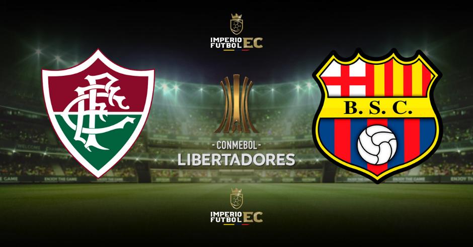 Fluminense vs Barcelona SC EN VIVO CUARTOS DE FINAL COPA LIBERTADORES